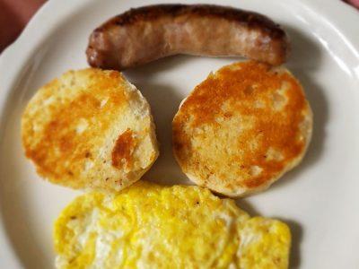 English Muffins Eggs Sausage