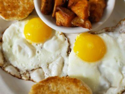 Potatoes Eggs
